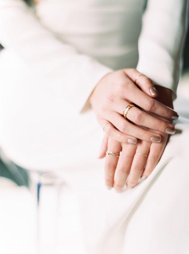 Наращивание ногтей свадебные - какой дизайн выбрать на