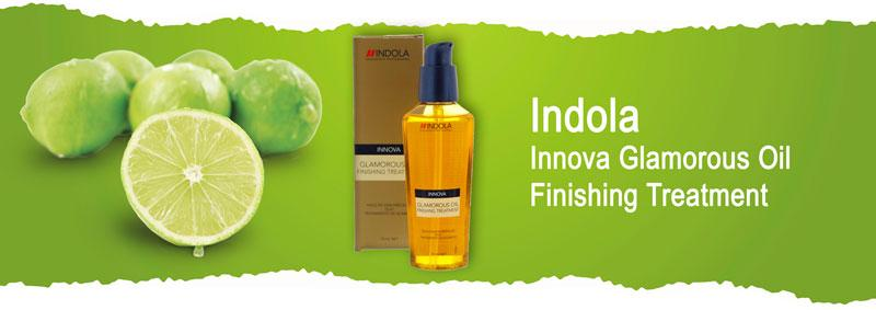 Масло для блеска Indola Innova Glamorous Oil Finishing Treatment
