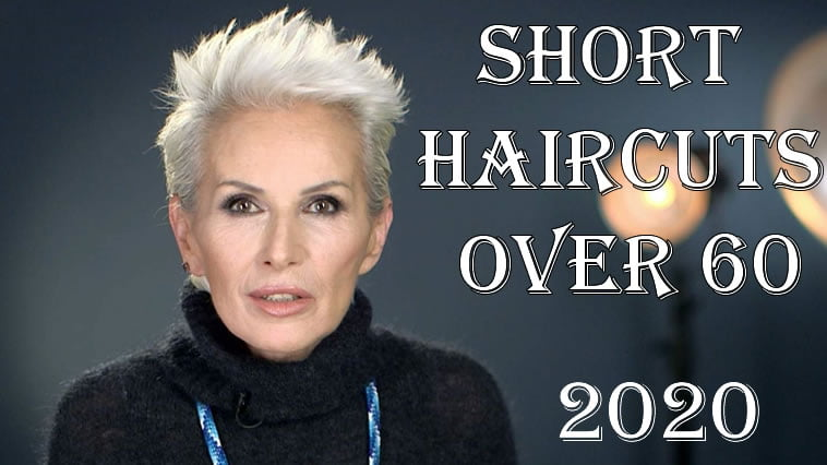 2020 short haircuts for women over 60
